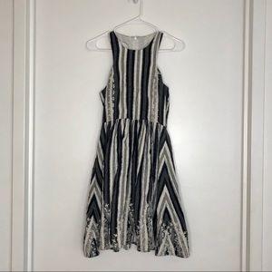Tracy Reese Black & White Racerback mini dress